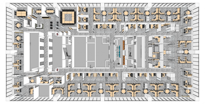 floor plan at commerce court