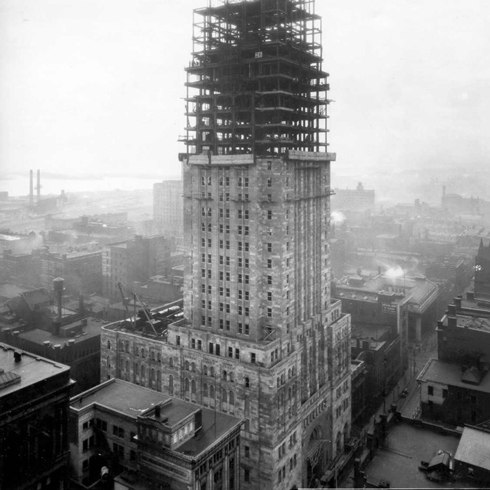 construction of commerce court