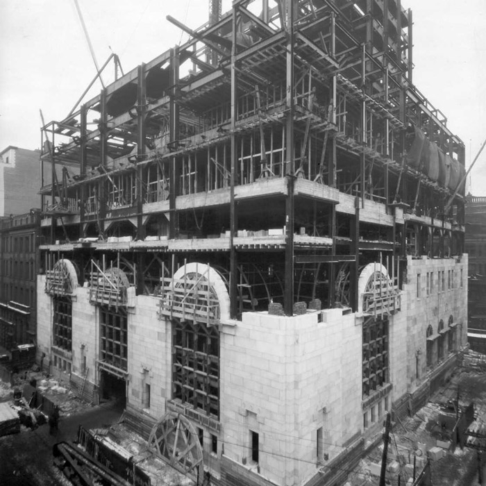 lobby construction at commerce court