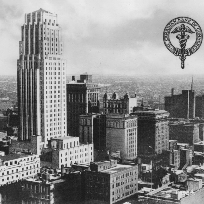 historical cityscape photo of commerce court