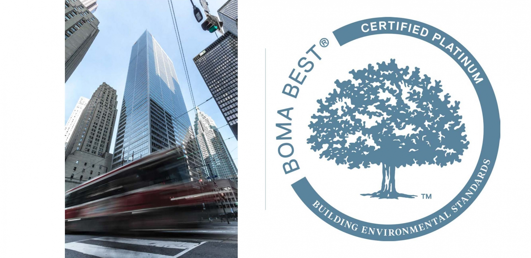 Commerce Court's West Tower Achieves BOMA BEST Platinum!