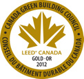 LEED Gold 2012 Logo